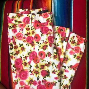 Ann Taylor floral crop